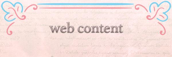 Blogging & Web Content
