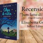Recensione di Jum fatto di buio di Elisabetta Gnone, Olga di Carta #2 [ Salani ]