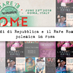 Il Venerdì di Repubblica e il Rare Roma 2018: polemica in rosa