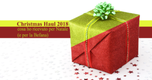 christmas haul 2018