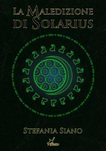 copertina de la maledizione di solarius